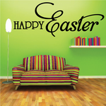 Happy Easter Script Decal