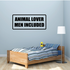 Animal lover men included Decal