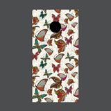 Butterfly Cornhole Board Wraps