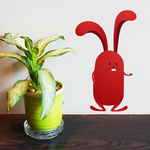 Easter Bunny Standing Sticker