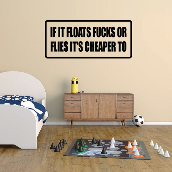 If it floats f*cks or flies it's cheaper to Decal