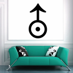 Uranus Astrological Decal