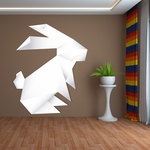 Easter Bunny Origami Sticker
