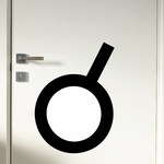 Conjunction Astrological Decal