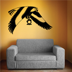 Horus Eagle Egyptian Wall Decal - Vinyl Decal - Car Decal - MC12