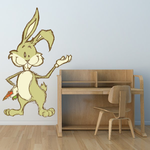 Easter Bunny Funny Gesture Sticker