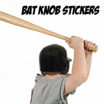 Bat Knob Stickers