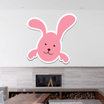 Smiling Easter Bunny Sticker