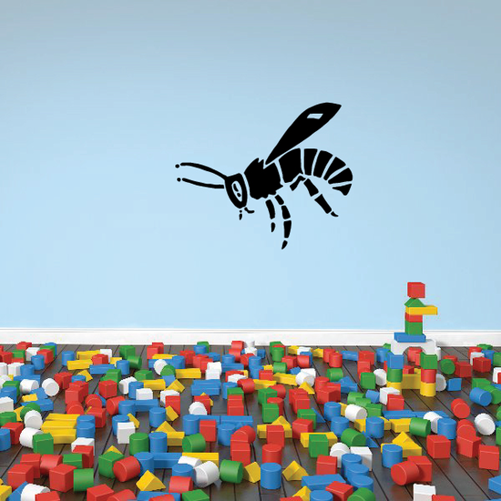 Floating Bee Decal