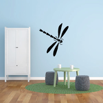 Dragonfly Open Wings Decal
