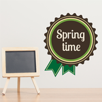 Spring Time Ribbon Decal