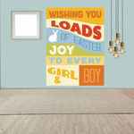 Wishing You Loads Of Easter Joy Rectangle Sticker