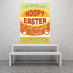 Hoopy Easter Somebunny Loves you Sticker