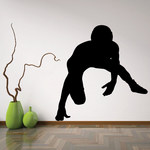 Wrestler Ready To Fight Decal