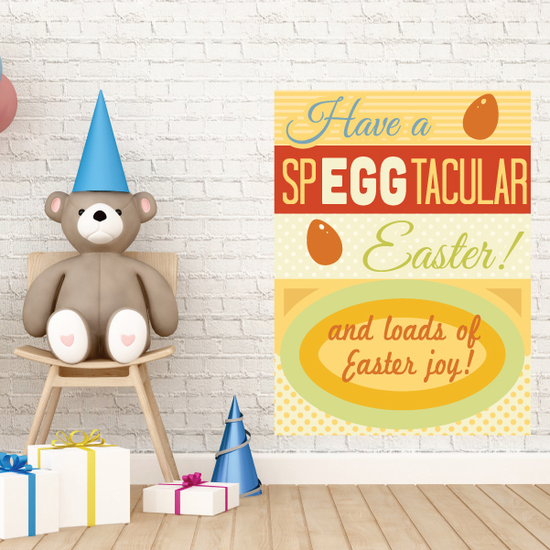 Have A Speggtacular Easter Rectangle Sticker