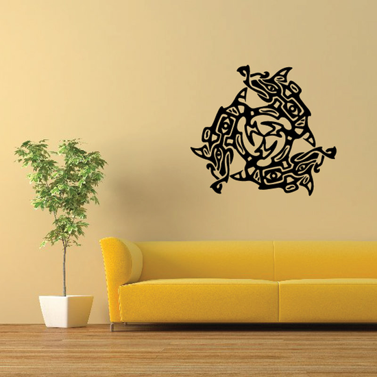 Fish Wall Decal - Vinyl Decal - Car Decal - DC394