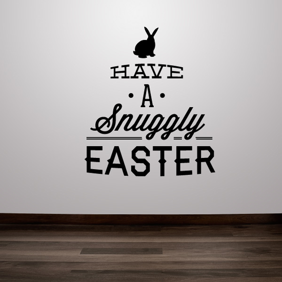 Have a Snuggly Easter Decal