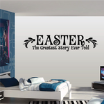 Easter The Greatest Story Ever Told Decal