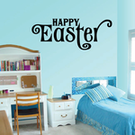 Loopy Happy Easter Decal