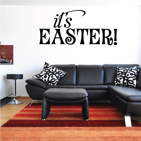It's Easter Typography Decal