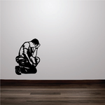 Crying Soldier Decal