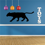 Panther Strolling Decal