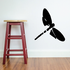 Dragonfly with Rounded Wings Decal