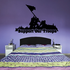 Iwo Jima Support Our Troops Decal