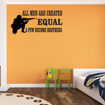 All Men Are Created Equal Decal