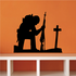 Soldier Mourning Decal