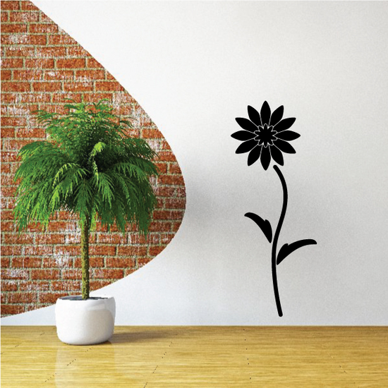 Blooming Daisy Flower Decal