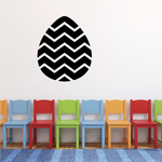 Easter Egg Geometric Wave Decal