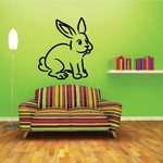 Charming Easter Bunny Decal