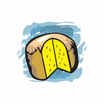 Traditional Easter Bread Sticker