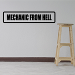 Mechanic from hell Decal