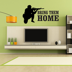 Bring Them Home Soldier Decal
