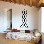 Egyptian Hieroglyph Letter H Decal