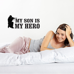 My Son Is My Hero Aiming Decal