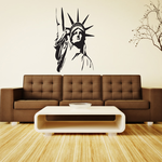 Satue of Liberty Bust Decal
