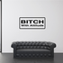 Bitch with my attitude Decal
