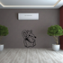 Cartoon Standing Mouse Decal