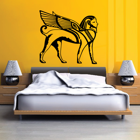 Sphynx Egyptian Wall Decal - Vinyl Decal - Car Decal - MC44