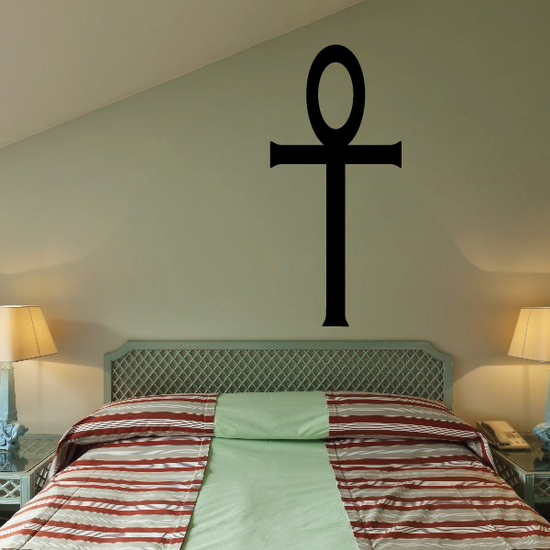 Egyptian Simple Ankh Decal