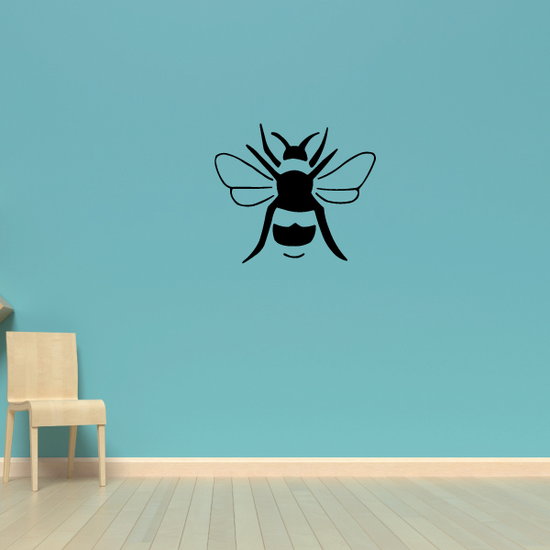 Suspended Bee Decal
