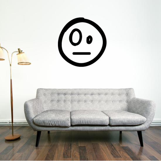 Emoticondoodle Wall Decal - Vinyl Decal - Car Decal - Id026