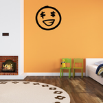 Emoticondoodle Wall Decal - Vinyl Decal - Car Decal - Id031