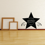 Proud Military Family Star Decal