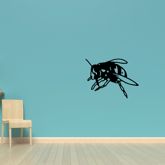 Harvesting Bee Decal