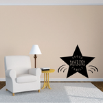 Proud Marine Family Star Decal