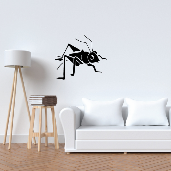 Young Grasshopper Decal